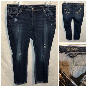 Silver Jeans Boyfriend size 22